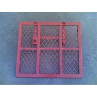 Buy cheap Safety Powder Coated Steel Trap Door Brick Guards For Scaffolding Ladder Access from wholesalers