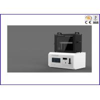 Buy cheap Cable Horizontal / Vertical Burn Test Apparatus , UL 1581 Flame Test Chamber from wholesalers