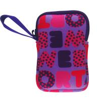 Buy cheap wrist strapped cute neoprene wallet purse bag for girls. Full color printed camera case from wholesalers