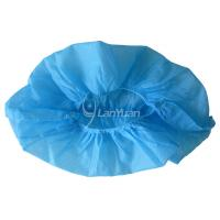 Buy cheap Anti-Skid Nonwoven Machine-made Blue Shoe Cover from wholesalers