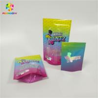 Buy cheap Custom Printed Resealable Ziplock Doypack Laminated Material Smell Proof Runtz Bag for CBD Candy Packaging from wholesalers