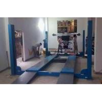 Buy cheap Double Hydraulic Balance System Four Post Car Lifts Second Jack 4000kg from wholesalers