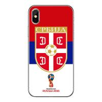 Buy cheap 2018 World Cup Smartphone Case Printing TPU Mobile Phone Case For iPhone X Custom Cell Phone Cover from wholesalers