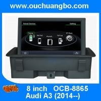 Buy cheap Ouchuangbo multimedia kit radio stereo Audi A3 support USB SD MP3 media player OCB-8865 from wholesalers