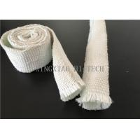 Expandable Fiberglass Braided Heat Insulation Sleeve / Sleeving High Intensity