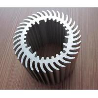 Buy cheap Round Cooler Aluminum Heat Sinks with Multi Application Aluminum Extrusion Heat Sink from wholesalers