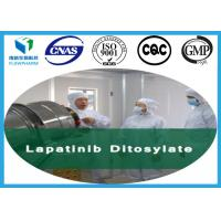 Buy cheap Raw Lapatinib Ditosylate Antineoplastic Drug For Breast Cancer CAS 388082-78-8 from wholesalers