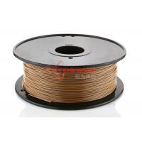 Buy cheap No Warping LayWood 3D Printer Materials 1.75mm 3mm , 230℃ - 260℃ product