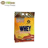 Buy cheap Food Grade Ziplock Custom Food Packaging Bags Air Proof For Nutrition Powder product