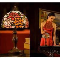 Buy cheap 8 inch Bedroom Table lamp  bedside lamp wedding decorate the room rose small night lights from wholesalers