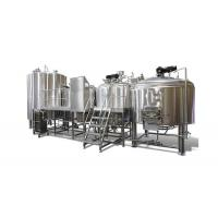 Buy cheap Micro Brewing Systems / 5000L Electric Brewery Dimple Plate Jacket For Fermentation from wholesalers