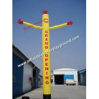Buy cheap Single Leg Outdoor Advertising Inflatable Air Dancing Guy With Arms from wholesalers