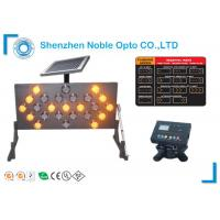 Buy cheap 25 Amber Lamps Traffic Arrow Board 13 Flashing Modes CE / RoHS approved from wholesalers