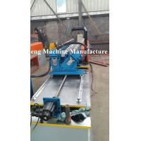 Buy cheap Single line of cold roll forming machine for C and U profile with punching devices from wholesalers
