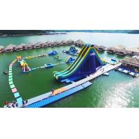 Buy cheap Crazy Super Water Sliding Fun! China Factory Direct Supply Deep Lake Gaint Inflatable Aqua Park Project from wholesalers