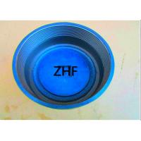 Buy cheap Blue Cast Iron Floor Drain  Heavy Duty Couplings Assembled With Plastic Plug from wholesalers