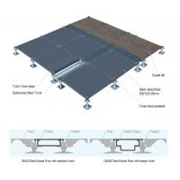 Buy cheap Low Finished Raised Access Floor Tiles 50mm To 150mm Large Loading Capacity High Performance from wholesalers