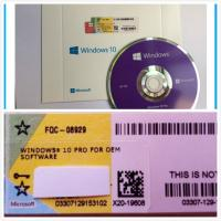 Windows 10 Pro Software OEM Box DVD with coa License , online activation