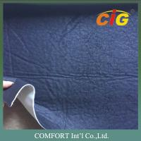 Buy cheap Elephant Skin Polyester Emitation Suede Sofa Upholstery Fabric CE REACH from Wholesalers