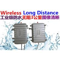 Buy cheap Analog video signal wireless transmission, No PTZ control, Accessibility wireless from wholesalers