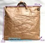Buy cheap Tyvek paper brown laptop backpack/rucksack, waterproof kids school bag tyvek backpack, drawing tyvek paper backpack from wholesalers