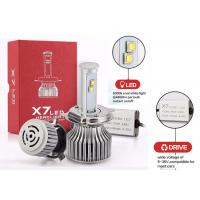 Buy cheap Automotive H4 6000K Latest Led Headlights 120W 9600Lm X7 LED Fog Light Bulb from wholesalers