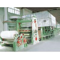 Buy cheap Double-Dryer Can and Double-Cylinder Mould Corrugating Paper Machine from wholesalers