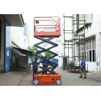Buy cheap Aerial Maintenance Scissor Lift Extension Platform Self Propelled Lift Table product