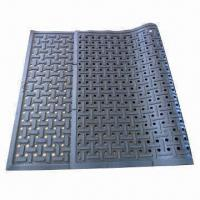 Buy cheap Oil-proof Kitchen Rubber Mats, Anti-fatigue Rubber Flooring, Non-slip Rubber Matting, O-ring Mats from wholesalers