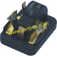 Buy cheap Refrigerator black PP1100 relay A-005 (compressor parts, A/C spare parts, HVAC/R) from wholesalers
