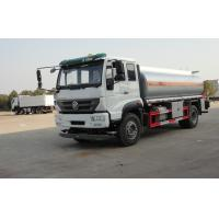 Buy cheap Mini Oil Tanker Truck 6.65cbm euro3 , 20000L Volume oil delivery trucks 300 HP from wholesalers