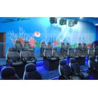 Buy cheap Luxury Hydraulic System Motion Theater Chair Of Royal Colors With Leg Tickle Special Effect product