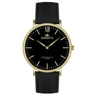 Buy cheap Custom Logo Quartz Hand Watch For Men 20.0 * 18.0mm Leather Strap from wholesalers