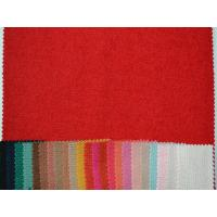 Buy cheap 50% Wool 50% Polyester Dressmaking Fabrics Cloth Red Black Pink from wholesalers