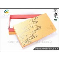 Bright Colored Cardboard Gift Boxes Matt Laminated Finishing 25x15x3cm Dimension