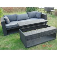 China Jacana wicker sofa set with Lift coffee table for Hotel, Garden and Beach by Clover Lifestyle Outdoor Furniture Sofa Set on sale