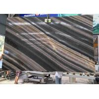 Buy cheap Brown Book Match Marble  Natural Stone Slabs Random Edges SGS Standard product
