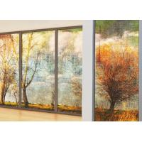 Buy cheap 3~12mm Digital Image On Glass , Digital Photo Printing On Glass For Hall Decoration from wholesalers