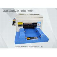 Buy cheap High - Tech Eco Solvent Small Flatbed Inkjet Printer A4 Computer Operation from wholesalers