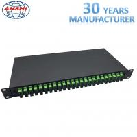 Buy cheap 19 Inch Rack Mount Type SC / APC ODF Optical Distribution Frame with Pigtail Fiber Optic Patch Panel from wholesalers