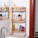 Buy cheap 4 tier bamboo fridge storage rack from wholesalers