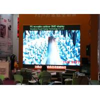 Buy cheap Wall Mounting Led Video Wall Panels P8 Simple Cabinet , IP65 Waterproof Level from wholesalers