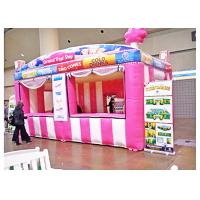 Buy cheap Pvc Colourful Inflatable Booth Display Candy House Shape For Trade Activities from wholesalers