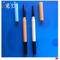 Buy cheap OEM professional customized ABS eyebrow pencil, waterproof long lasting cosmetic eye brow pencil from wholesalers
