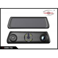 Buy cheap Full Hd Wifi Dual Car Camera Android Dvr Video Recorder / Gps Navigation Rearview Mirror product