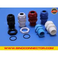 Buy cheap Non-metallic Plastic (Nylon) Cable Glands IP68 with Locking Nut & O-ring from wholesalers
