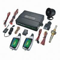 Buy cheap Two-way Car Alarm System with Color LCD Panel and Handsfree Operation from wholesalers