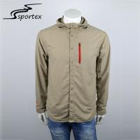 Buy cheap New Arrival Casual Outdoor Clothing Long Sleeve Mens Hiking Jacket Plain Dyed from wholesalers