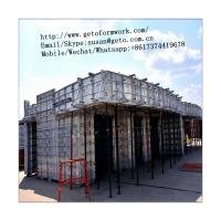 Buy cheap Best Selling Concrete Panel Formwork Aluminium Alloy Formwork Beam/Formwork H20 Timber Beam/Aluminium formwork system from wholesalers