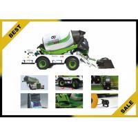 Buy cheap Automatic Metering Water Feed Concrete Lorry  Mixer , 4 Cbm Cement Mixer Truck Hydraulic Gearbox from wholesalers